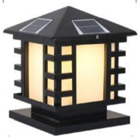 giá đèn trụ cổng năng lượng mặt trời