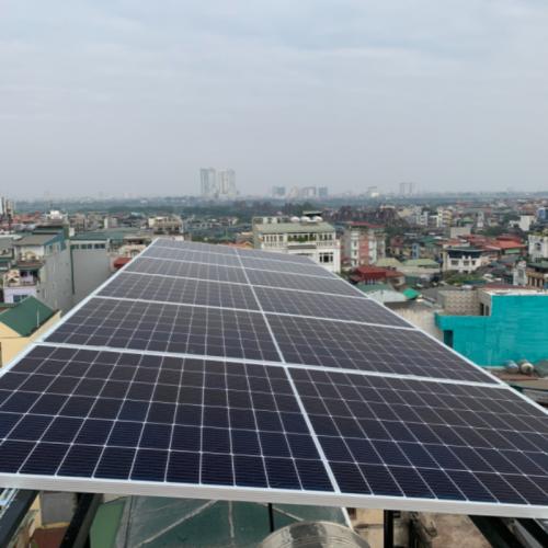 Dự án điện mặt trời tại ba đình hà nội
