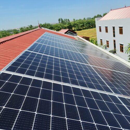 lắp đặt dự án điện năng lượng mặt trời tại yên phong bắc ninh