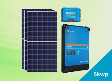 hệ thống điện năng lượng mặt trời 5kwp