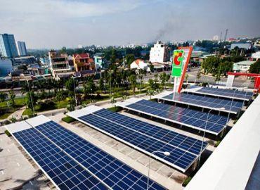 Lắp đặt điện năng lượng mặt trời cho siêu thị, cửa hàng