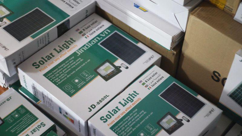 vỏ hộp đèn năng lượng mặt trời